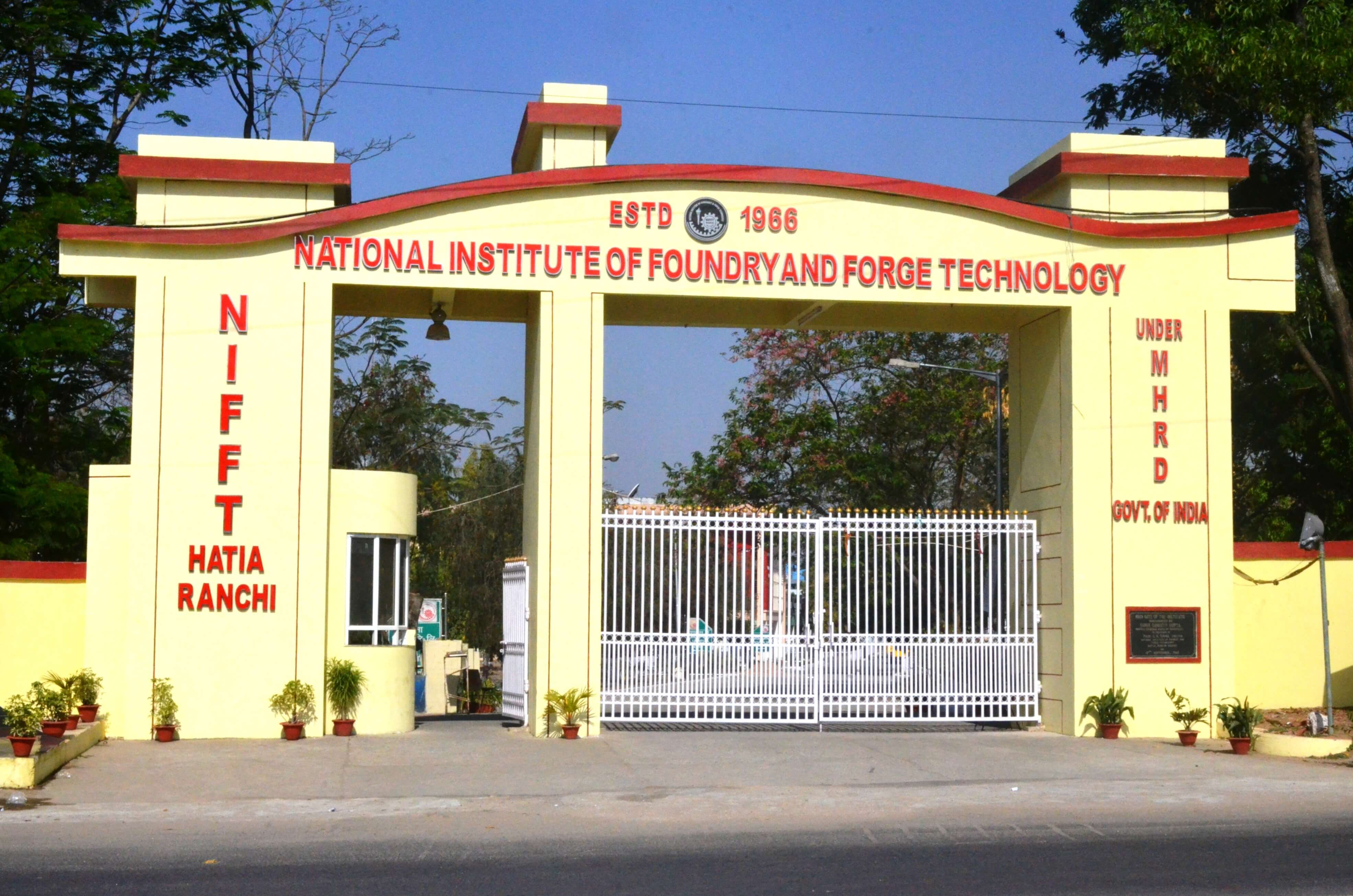 HOME-National Institute of Foundry & Forge Technology (NIFFT